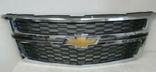 OEM 2015 2016 2017 2018 Chevy Tahoe Suburban Upper Front Grille Grill Chrome