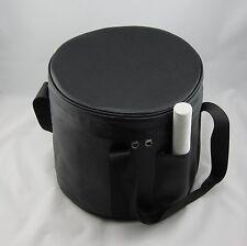 Set of 7 Carrier (Carrying Case) for Crystal Singing Bowl(Black/Orange 8''-14'')