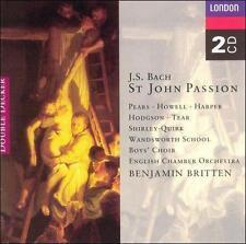 Bach: St. John Passion (CD, Apr-1995, 2 Discs, London)