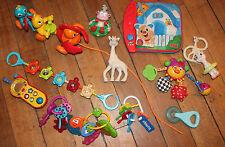 LOT de Jouets téléphone VTech Sophie la girafe clés dentition éveil poussette