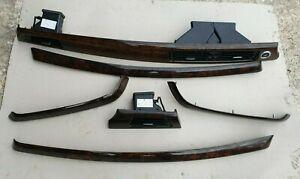 BMW 3 Series E90 E91 Interior Dash Trim Set Wood Effect