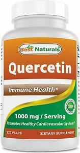 Best Naturals Quercetin 1000 mg/Serving 120 Veggie Capsules