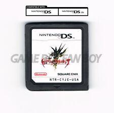 Blood of Bahamut ENGLISH Translation Nintendo DS Custom Cartridge