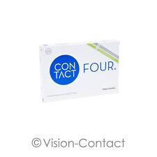 Contact Four 1 x 6 sphärische Kontaktlinsen Monatslinsen von Wöhlk