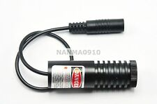 Focusable 100mW 850nm IR Infrared Laser Diode Dot Module w/ 5V Adapter 22X60mm