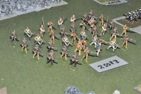 25mm 7YW / american - old school indians & militia 36 figures - inf (25083)