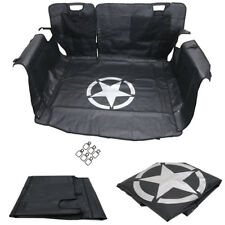 Storage Cargo Liner Rear Seat Cover Pet Dog Hammock For Jeep Wrangle 4 Door #ya