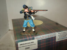King & Country Cw29 American Civil War Union Rifleman Stands to Fire 1 30 Scale