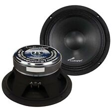 "Audiopipe APMB8C 8"" Midbass(Sold Each) 500W 8Ohm Cast Basket"