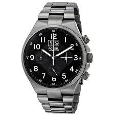 FOSSIL Uhr CH2905 QUALIFIER Herren Edelstahl Armbanduhr Chronograph Datum Analog