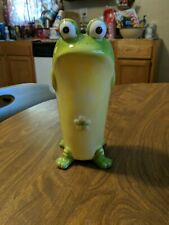 Froggy Flower Vase Toby the Toad