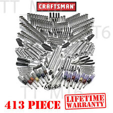 Craftsman 413 pc Mechanics Pro Tool Set SAE METRIC Wrench Professional #311 500