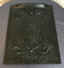 Antique Victorian Ornate Fireplace Summer Cover Goddess Lady Woman