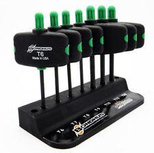Bondhus TWX7 7 Piece Torx Wing Driver Handle Torx Key Set T6-T20 34745