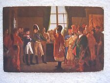 Alexandre presents to Napoleon the Russian Cossacos Postcard Les Editions Nomis