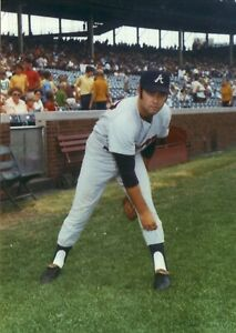 Rick Kester--Atlanta Braves--5x7 Glossy Color Photo