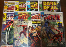 DAREDEVIL LOT OF 8 ISSUES 26 29 31 32 47 54 55 + KING SIZE SPECIAL 1 - VG TO VF