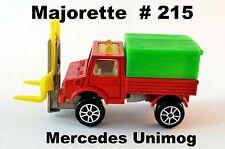 Majorette # 215 Mercedes Unimog 1:82 (ca. 1976)
