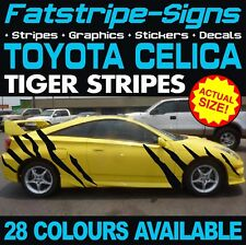 TOYOTA CELICA TIGER STRIPES GRAPHICS STICKERS DECALS VVTI GT SPORT TRD 1.8