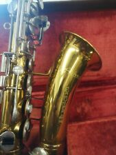 vintage Buescher Aristocrat Alto saxophone