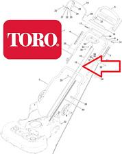 Genuine TORO Timemaster 20975/77 (ruote di trazione) CLUTCH CABLE 127-6867 901 AA