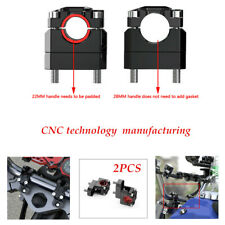 A Pair CNC technology Motorcycle HandleBar Risers Handle Bar Mount Clamp Riser