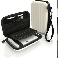 White Hard Case Cover for New Nintendo 3DS XL 3DSXL 2DS XL 2DSXL Sleeve Pouch