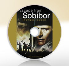 Escape From Sobibor (1987) DVD War Movie / Film Alan Arkin Rutger Hauer