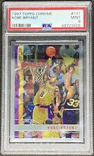 1997-98 Topps Chrome #171 Kobe Bryant Los Angeles Lakers HOF PSA 9 MINT