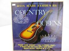 Hits Made Famous by Country Queens LP Record Album Vinyl