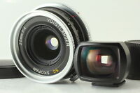 [NEAR MINT] Voigtlander SC Skopar 25mm f/4 Lens w/ Viewfinder From Japan #345