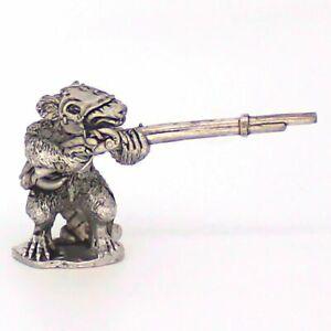 Ratman Firing Jezzail Warhammer Fantasy Armies 28mm Unpainted Wargames