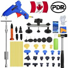 Car Body Paintless Hail Removal T-Bar Dent Puller Bridge PDR Tools Tap Down Kits