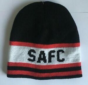 Sunderland AFC Official Football Knitted Beanie Hat UTBS408/_1