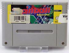 Super Nintendo SNES Spiel - Pinnball Dreams + Pinnball Fantasies