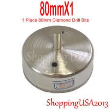 1 pc 80mm Diamond tool metal drill bits set hole saw glass ceramic marble tile@@