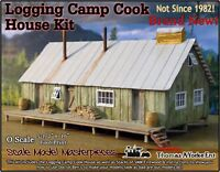 Scale Model Masterpieces/Yorke Logging Camp Cook House Kit O/1;48