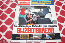 AKTUEEL # 46 1985 MEN'S MAGAZINE KNIGHT RIDER THE WHO SEXY MODELS