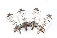 3 Stück alte Sicherungen Sicherung 3x 500 Volt Gr. 00 bis 125 Ampere