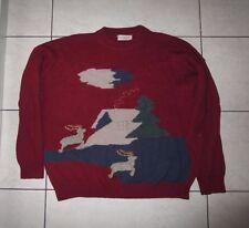 iceberg  sweater  wool bordeaux  100% authentic  L