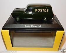 NOREV PEUGEOT 403 BREAK 1962 POSTES POSTE PTT 1/43 in luxe box