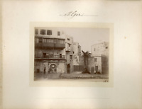 Algérie, Alger Vintage albumen print Tirage albuminé  8x11  Circa 1880