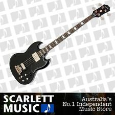 Epiphone EB-3 IV String Electric Bass Guitar Ebony *BRAND NEW*