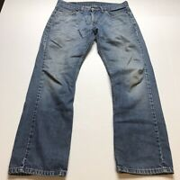 Levis 559 Relaxed Fit Medium Wash Jeans Size 31x30 A1047
