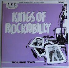 """ROCKABILLY 10"""" LP -UK 1980  ACE 19 - """"KINGS OF ROCKABILLY"""" VOLUME 2  M-"""