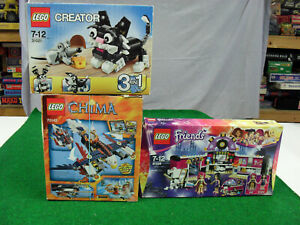 Lot Lego Creator 31021 + Chima 70142 + Friends 41104 d'occasion