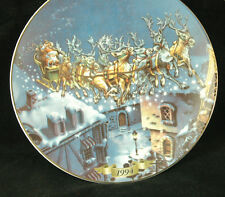 1994 CHRISTMAS ON MAINSTREET.. COLLECTOR'S EDITION PLATE BY ARTIST BRUCE EAGLE