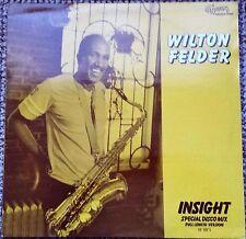 "Wilton Felder....Insight  12"" 1981 UK Vinyl Single MCAT 665 Disco Mix 9:08"