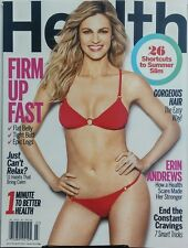 Health July Aug 2017 Erin Andrews Firm Up Fast Belly Butt Legs FREE SHIPPING sb