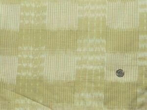 100/% Cotton Flannel Flannel Fabric By the Yard Kate Green Yellow Plaid